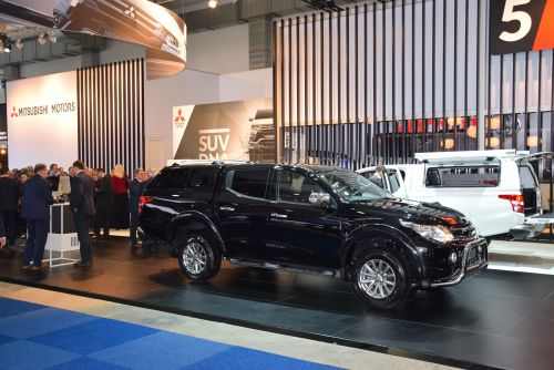 Mitsubishi Triton @ Brussels Motorshow
